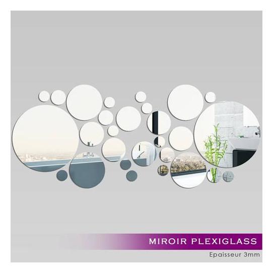 Miroir Plexiglass Acrylique -  Ronds MiniMaxi 1