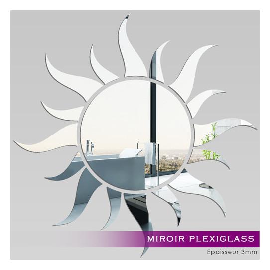 Miroir Plexiglass Acrylique - Soleil
