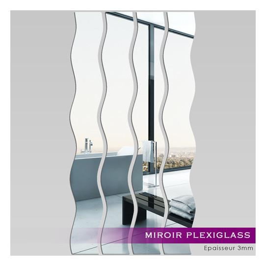 Miroir Plexiglass Acrylique - Verticales 1