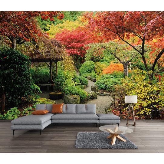 Papier peint jardin asie