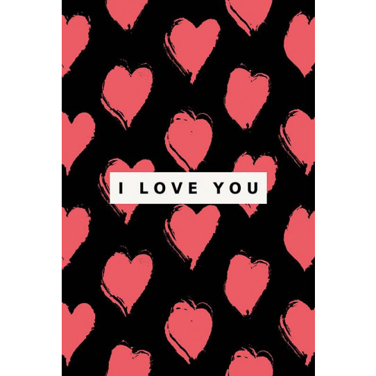 Poster - Affiche i love you