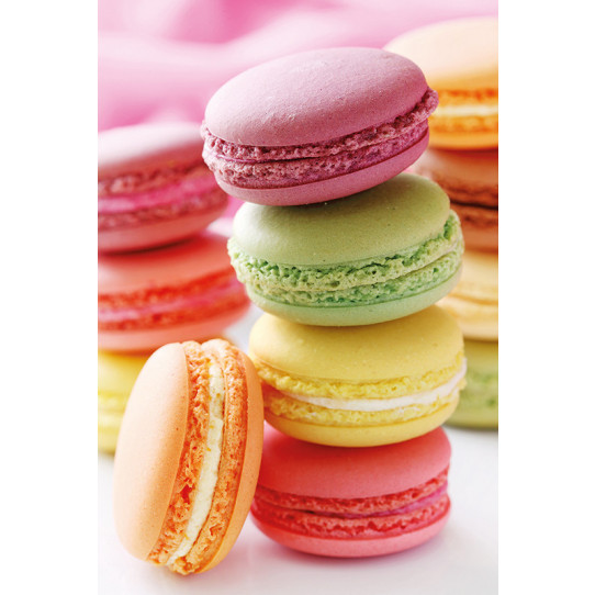 Poster - Affiche macarons
