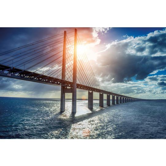 Poster - Affiche pont mer