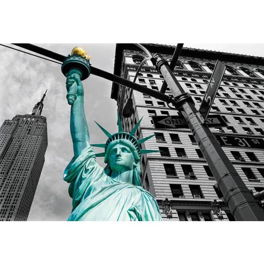 Poster - Affiche usa statue de la liberté