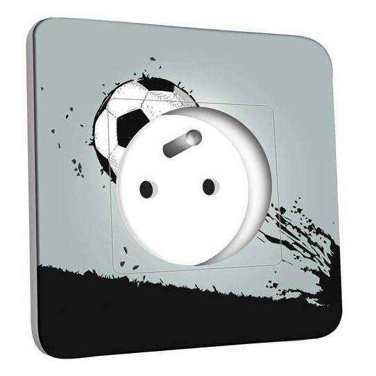 Prise décorée - Ballon de foot Design 1