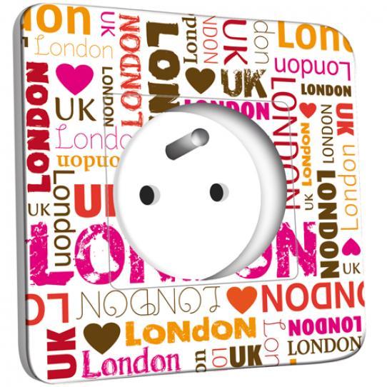 Prise décorée - London Lettres