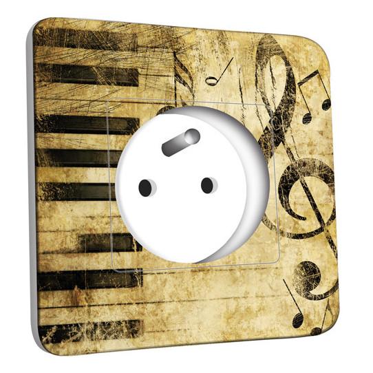 Prise décorée - Musique Old Style