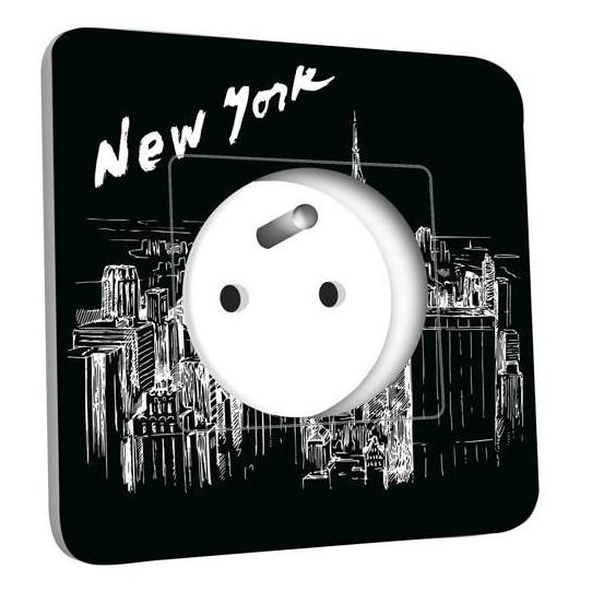 Prise décorée - New York Black&White 1
