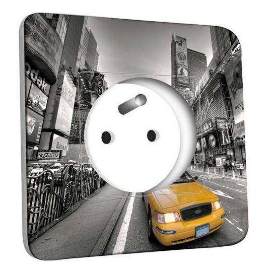 Prise décorée - New York Taxi 01