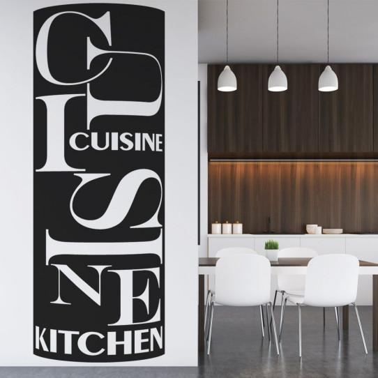Sticker cuisine 4 des prix 50 moins cher qu 39 en magasin for Stickers muraux cuisine