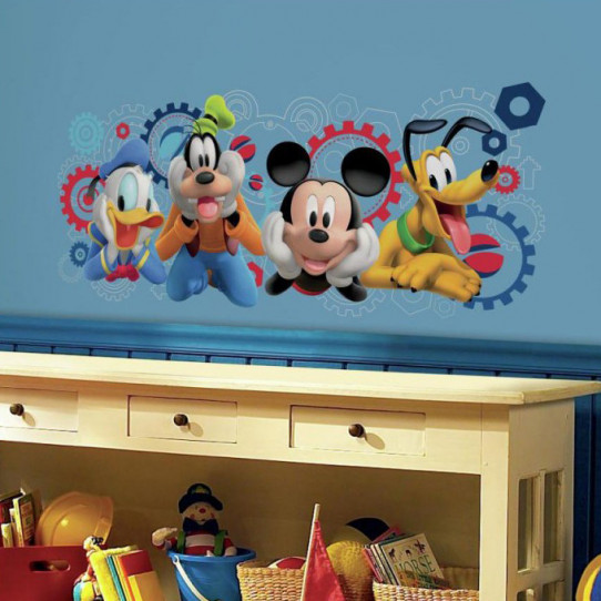 Stickers disney marvel 50 sur les prix magasin stickers - Mickey mouse et ses amis ...