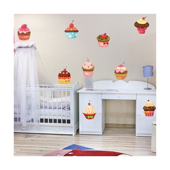 Stickers 9 cupcake