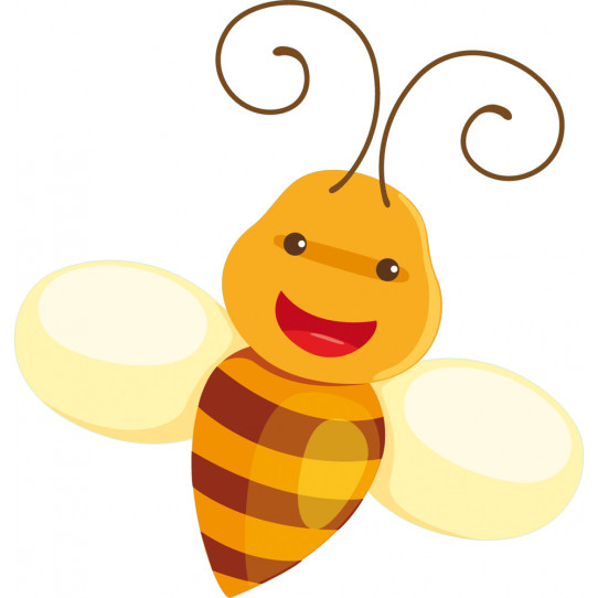 Stickers abeille
