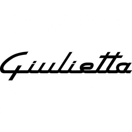 Stickers Alfa Romeo Giulietta