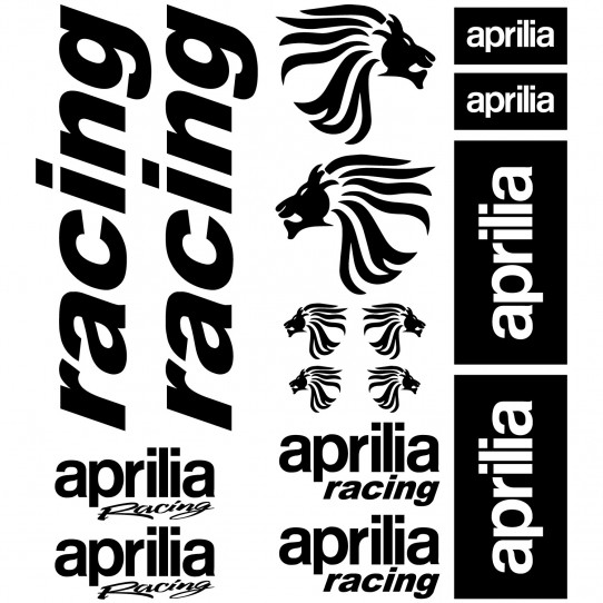 Stickers aprilia racing