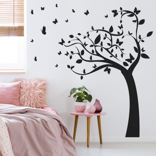 stickers arbre 50 sur les prix magasin stickers. Black Bedroom Furniture Sets. Home Design Ideas