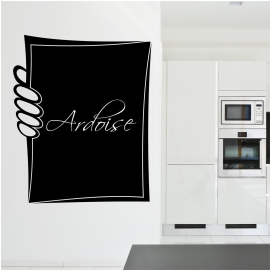 Stickers ardoise carte