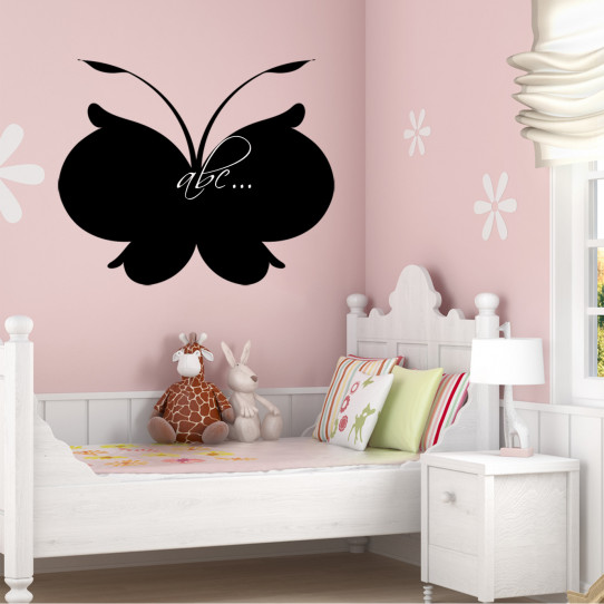 Stickers ardoise papillon