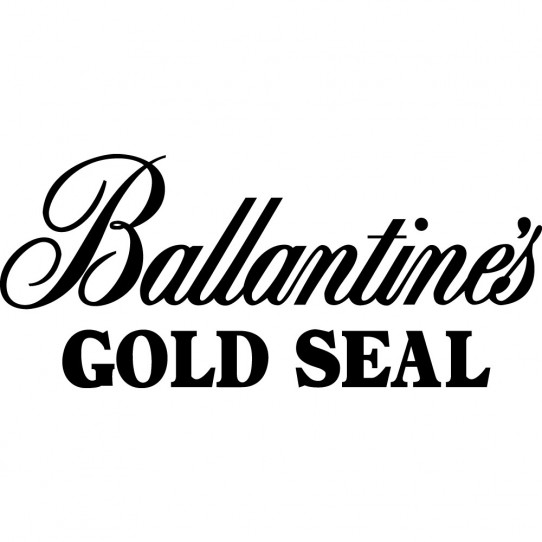 Stickers ballantines gold seal