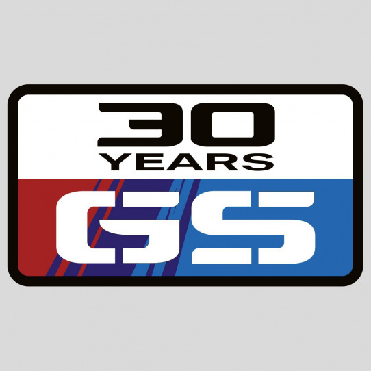 Stickers bmw gs 30 ans