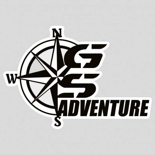 Stickers bmw gs adventure