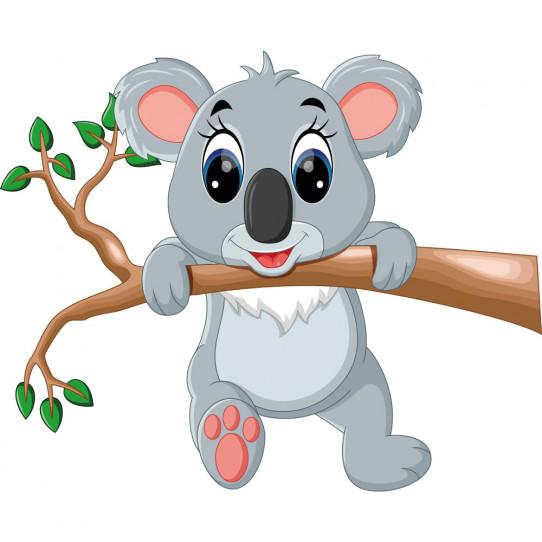 Stickers branche koala