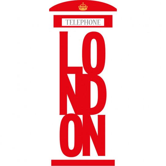 Stickers cabine téléphonique london