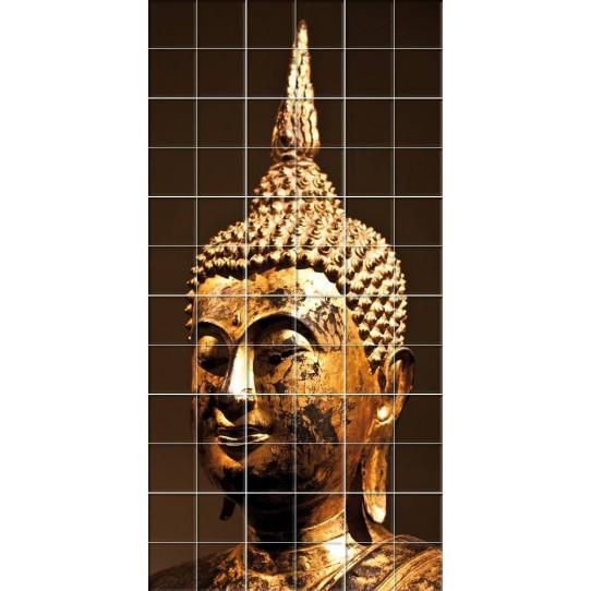 Stickers carrelage bouddha