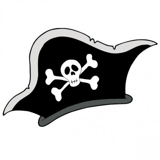 Stickers Chapeau Pirate