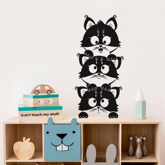 Stickers chatons