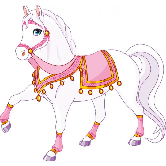 Stickers cheval princier