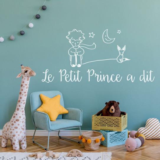 Stickers citation le petit prince a dit