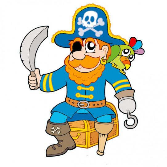 Stickers Coffre Pirate