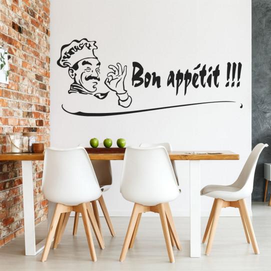 Stickers cuisine bon appétit !!!
