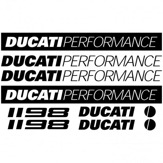 Stickers Ducati 1198