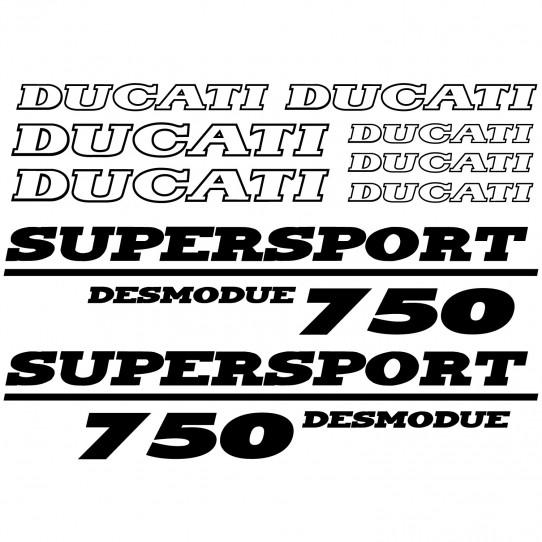 Stickers Ducati 750 desmo