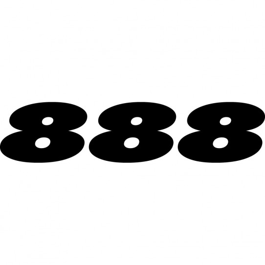 Stickers ducati 888