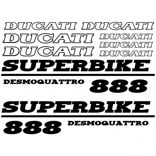 Stickers Ducati 888 desmo