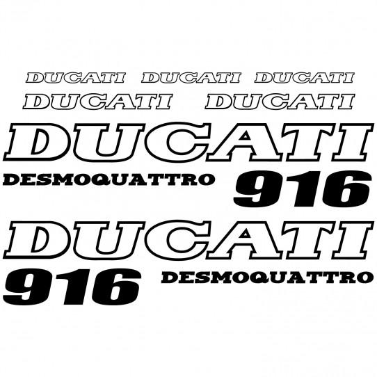 Stickers Ducati 916 desmo