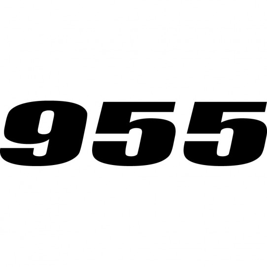 Stickers ducati 955