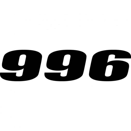 Stickers ducati 996