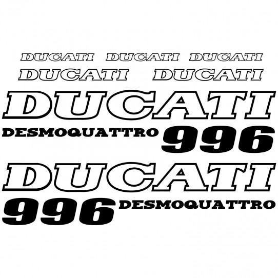 Stickers Ducati 996 desmo