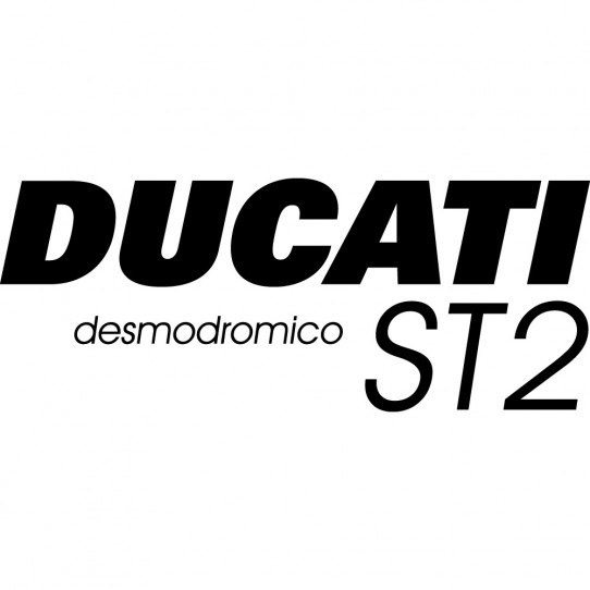 Stickers ducati desmodromico st2