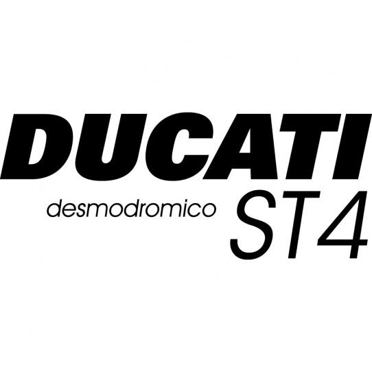 Stickers ducati desmodromico st4