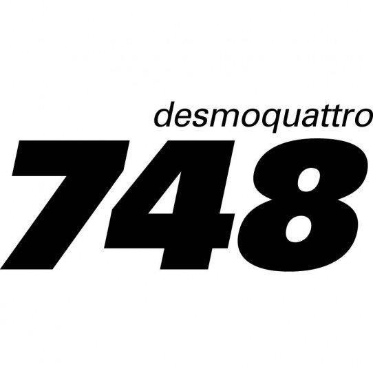 Stickers ducati desmoquattro 748