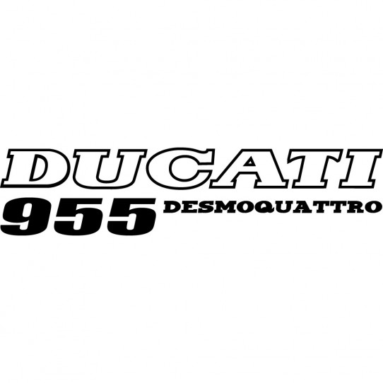 Stickers ducati desmoquattro 955