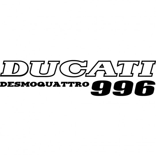 Stickers ducati desmoquattro 996