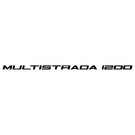 Stickers ducati multistrada 1200