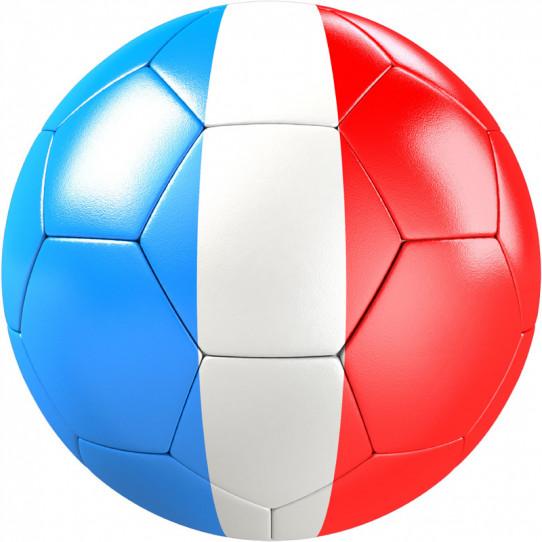 Stickers effet 3D- Ballon de foot 12