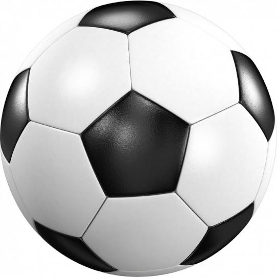 Stickers effet 3D- Ballon de foot 15